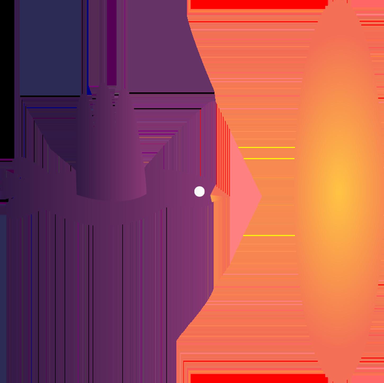 Fialový vták